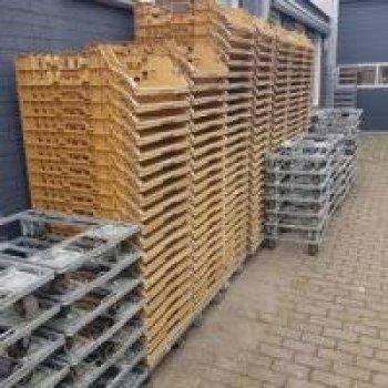 250 Broban kratten zonder dollies