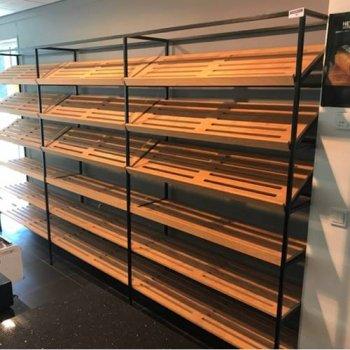 Brood Wand stelling